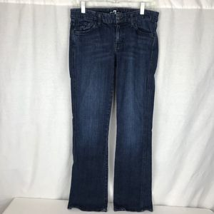 7 For All Mankind Womens 30 Stretch Bootcut Jeans